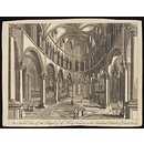 An Inside View of the Chapel of the Holy Trinity in the Cathedral Church of Canterbury (Print)