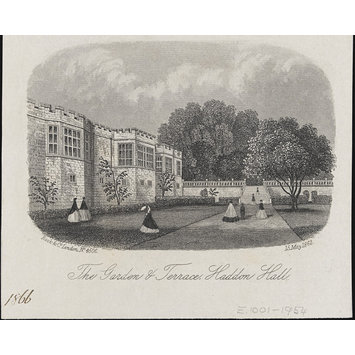 Print - The Garden & Terrace, Haddon Hall