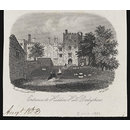 Entrance to Haddon Hall Derbyshire (Print)