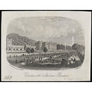 Chatsworth, Italian Garden (Print)