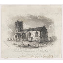 Hucknall Church near Nottingham (Print)