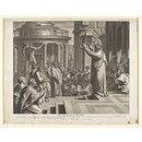 St Paul Preaching at Athens (Print)