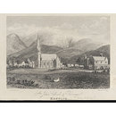 St John's Church and Parsonage. Keswick (Print)
