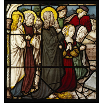 Panel - Raising of Lazarus, The