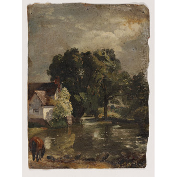 Oil - Willy Lott's House, near Flatford Mill