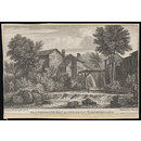 The Celebrated Mill at Ambleside, Westmorland (Print)
