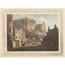 Edinburgh Castle (Aquatint)