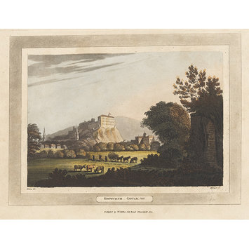 Aquatint - Edinburgh Castle