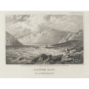 Engraving - Lough Dan Co. of Wicklow