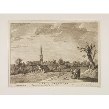 Print - A View in Flanders