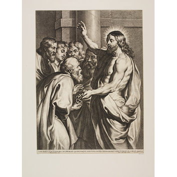 Print - Christ Delivering the Keys to St. Peter