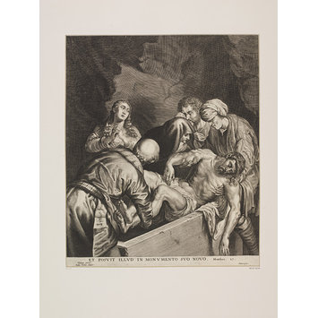 Print - The Entombment of Christ