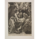Judith cutting off the head of Holofernes (Print)