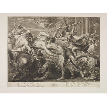 Print - The Rape of Hippodamia