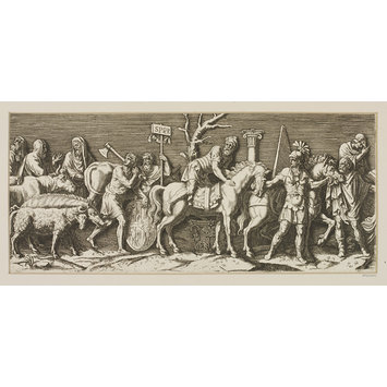 Print - The Triumph and Entry of the Emperor Sigismund into Mantua
