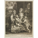 Virgin and Child with St. Elizabeth and the infant St. John (Print)