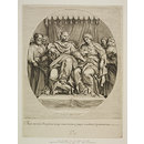 Solomon and the Queen of Sheba (Print)