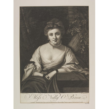 Print - Miss Nelly O'Brien