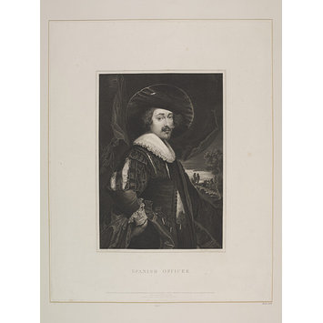 Print - Spanish Officer