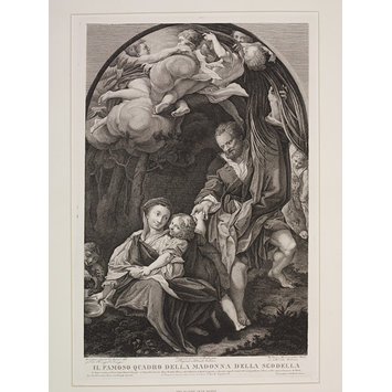 Print - The Madonna della Scodella (The Flight into Egypt)