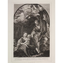 The Madonna della Scodella (The Flight into Egypt) (Print)