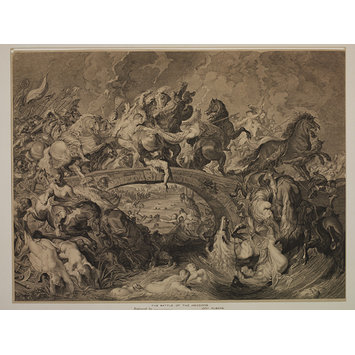 Print - The Battle of the Amazons