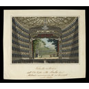 Interior view of the Scala Theatre Milan, newly restored in 1830 (Print)