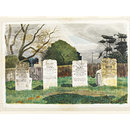 The Livermore Tombs, Barnston, Essex (Watercolour)