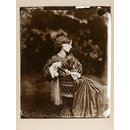 Jane Morris, posed by Rossetti (Photograph)