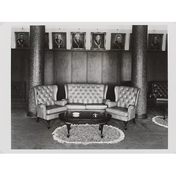 Photograph - The Mayor's parlour at the Town Hall, Boksburg