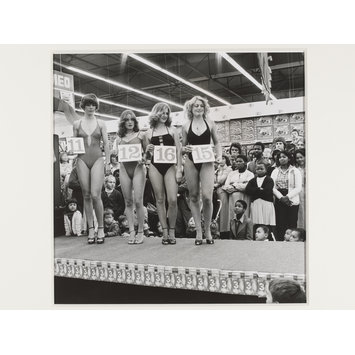 Photograph - Miss Lovely Legs competition at the Pick 'n Pay hypermarket, Boksburg