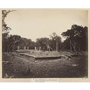 Anuradhapura- Newly discovered Palace of Dutugemunu. View of third Pavilion from the south-east. (Photograph)