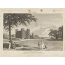 Lulworth Castle, Dorsetshire (Etching)