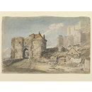 Peverell's Gateway, Dover Castle (Watercolour)