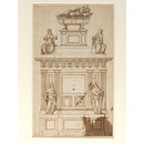 Design for a tomb for Pope Leo X (Design)