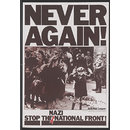 Never Again! Stop the Nazi National Front! (Poster)