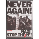 Never Again! Stop the Nazi NF! (Poster)