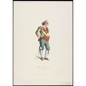 Print - George Speaight Punch & Judy Collection