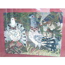 Pigeons (Embroidered picture)