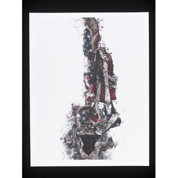 Print - Award Made During the Invasion and Occupation of Iraq 2003 to Now.
