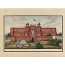 Sixty drawings of Mughal monuments and architectural details. (Drawing)