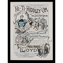 H Beard Print Collection (Music sheet)