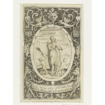 Engraving - The Virtues
