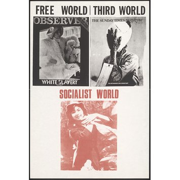 Poster - Free World/ Third World/ Socialist World