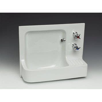 Wash basin - 'Barbican' hand rinse basin (model 14008)