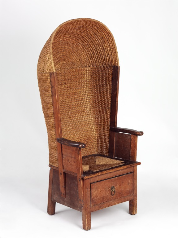 Hooded Chair. Kirkness, David, Born 1855   Died 1936; Enlarge Image