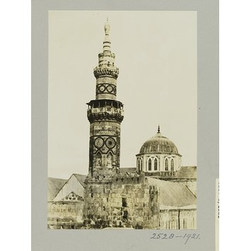 Photograph - The minaret of Mamluk Sultan al-Ashraf Qaytbay at the Ummayad mosque, Damascus