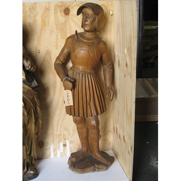 Statuette - A Warrior Saint