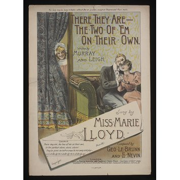 Sheet music - There They Are - The Two of 'Em on Their Own