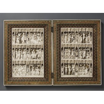 Diptych - Scenes from the Life of Christ